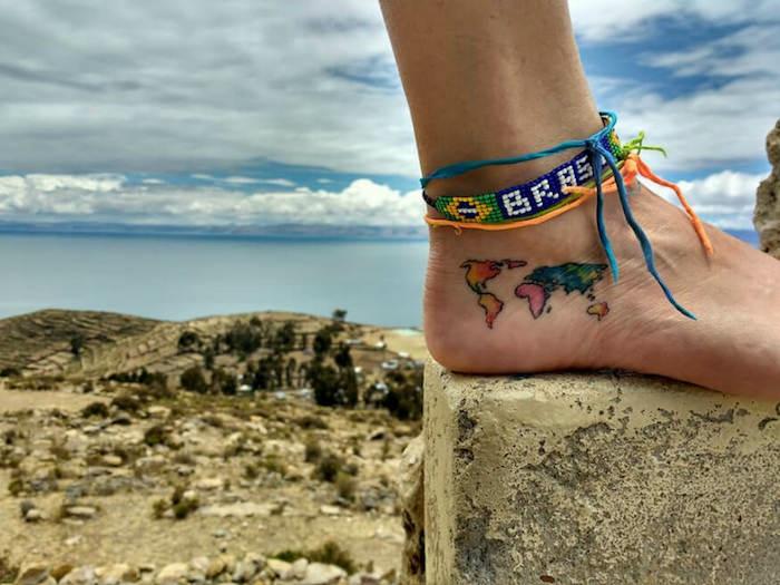 Mon tatouage avant bras, tatouage commun couple mon premier tatouage plan du monde sur le pied
