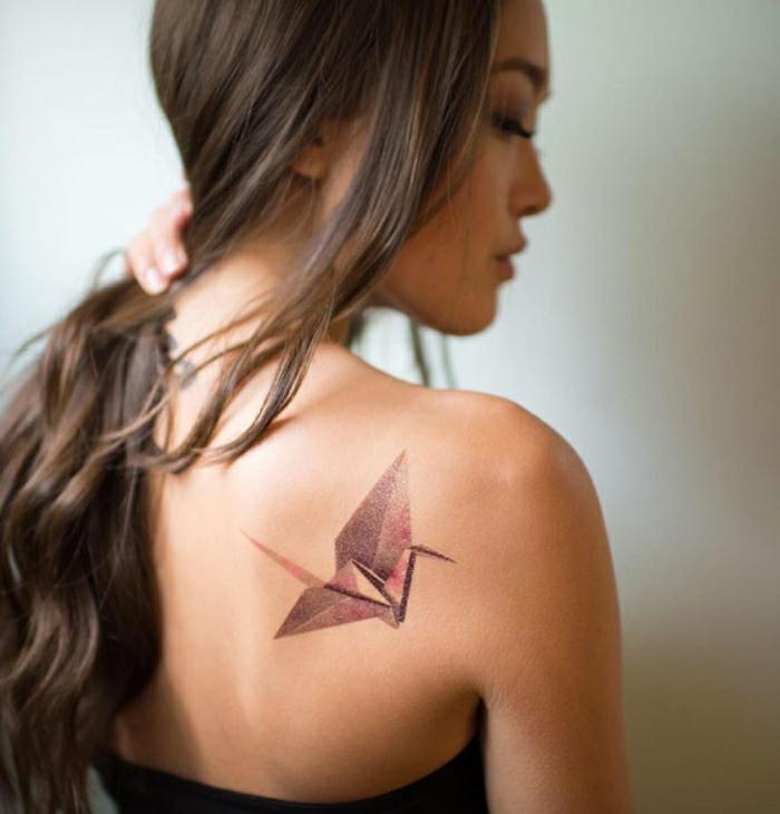 Quel tatouage amitié choisir, une idée de tatouage en commun art sur la peau origami prison brake idee
