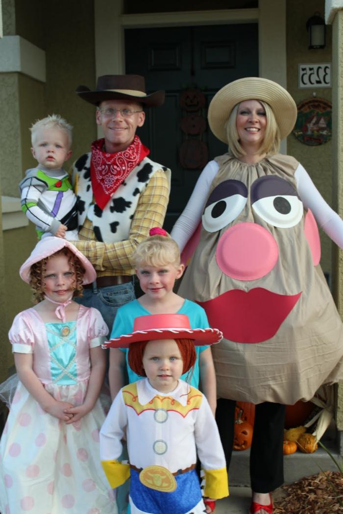 Chouette idée de soiree a theme, deguisement groupe, thème déguisement, soiree costumee, toy story déguisement famille