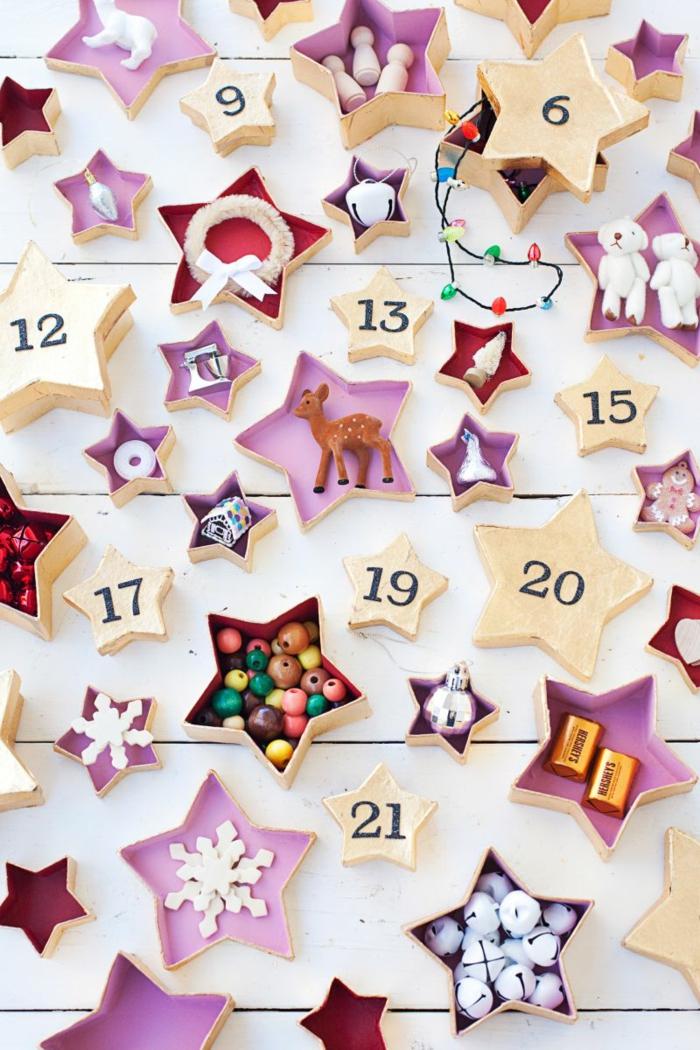 Calendrier de l avent personnalisé pour un enfant sans lui donner de chocolat, que mettre dans un calendrier de l avent