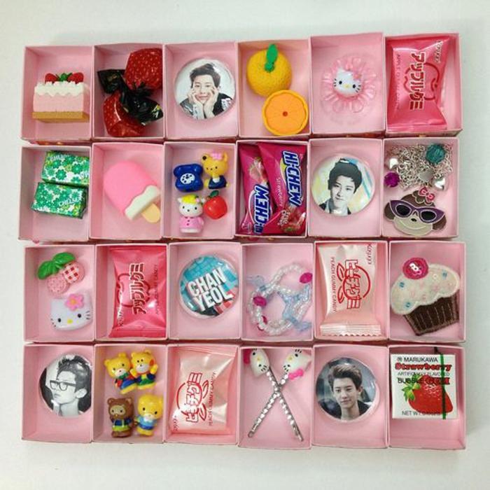 Photo de calendrier de l avent pour enfant, que mettre dans un calendrier de l avent japonais inspiration
