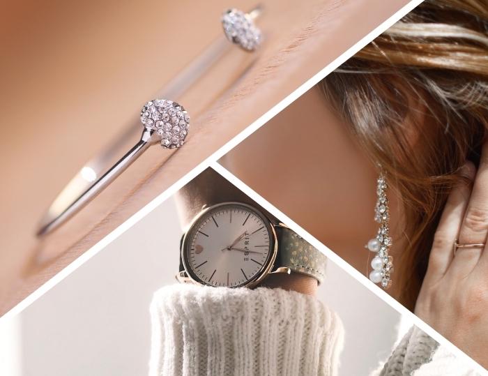 cadeau anniversaire maman, modèle de bijou en argent, exemple de cadeau précieux pour mère, modèle de bracelet avec cristaux