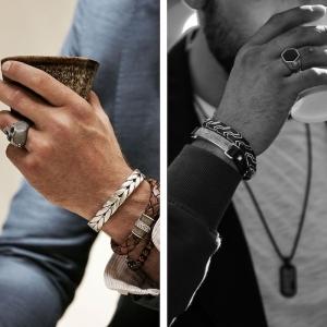 La bague en argent ou ces Bijoux en Vogue chez les hommes