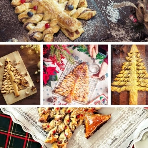 Le sapin feuilleté: des recettes savoureuses au goût de Noël