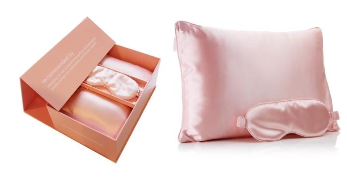 objet de relaxation pour femme, masque de nuit sommeil femme, coffret surprise noel pour femme, kit sommeil avec masque de sommeil et oreiller