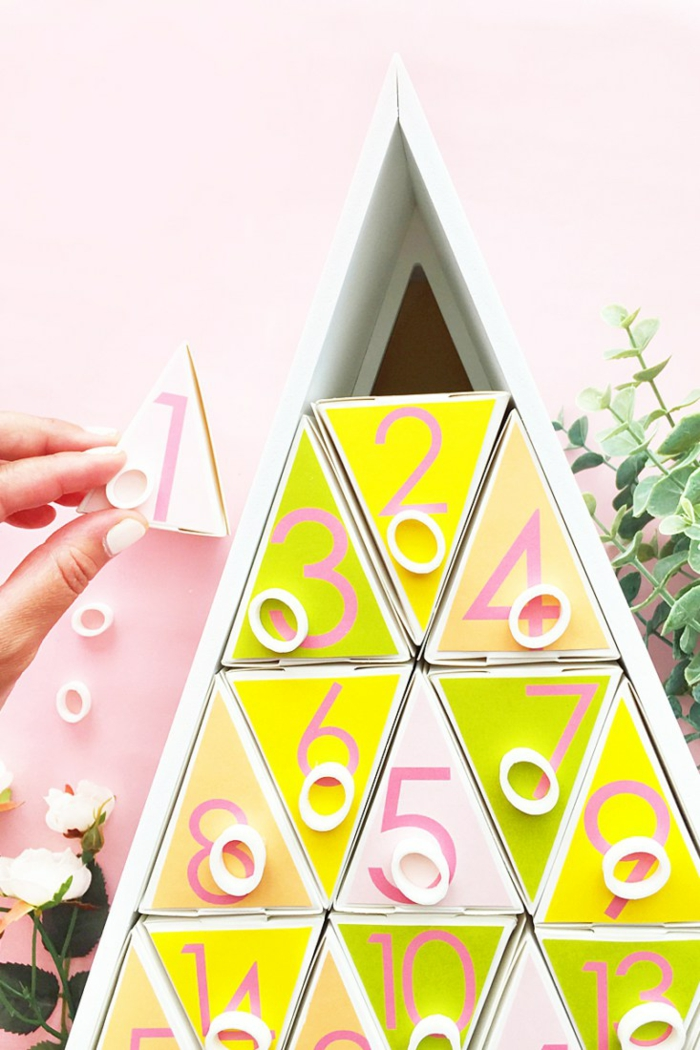 Calendrier de l avent maison fabriquer son calendrier de l avent beaux cadeaux, fabriquer son sapin de noel original