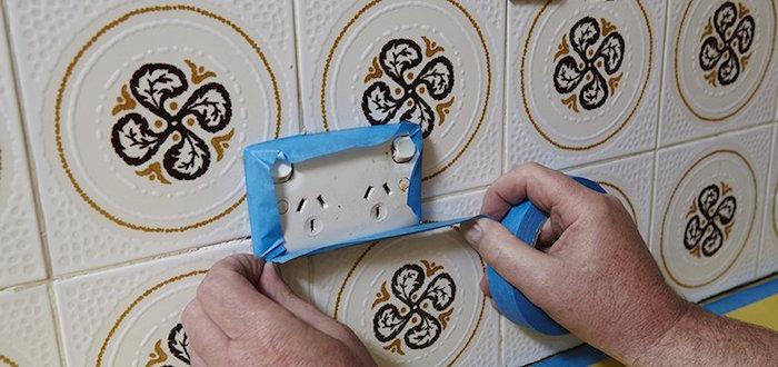 tuto pour peinture faience murale crédence de cuisine pour renover la décoration mur intérieur