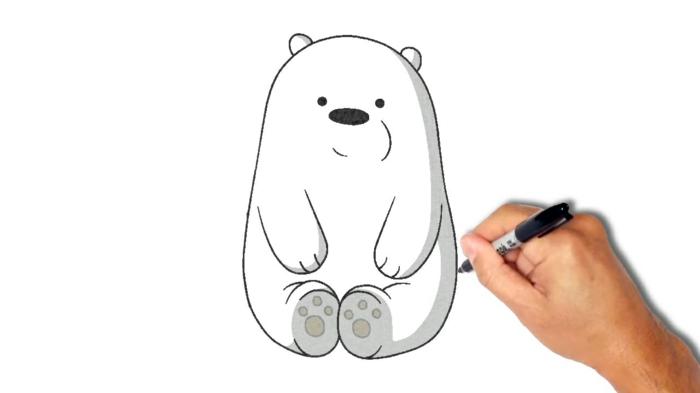Dessins facile à faire, apprendre à dessiner, simples lignes pour apprendre comment le faire