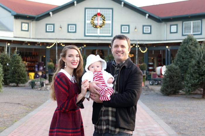 Deguisement mere noel, tenue décontractée chic femme choix tenue festive, tenues de toute la famille