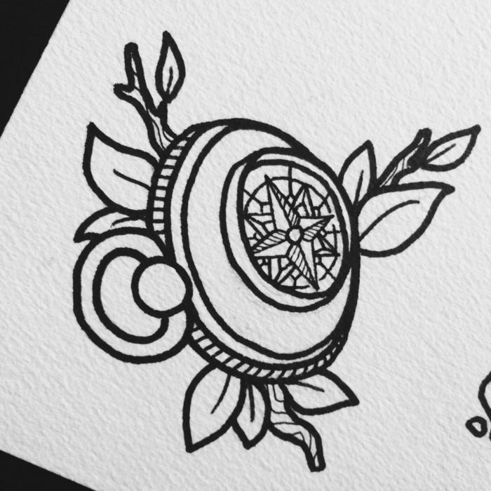 Apprendre a dessiner facilement apprendre à dessiner chouette image, dessin compas pour tatouage