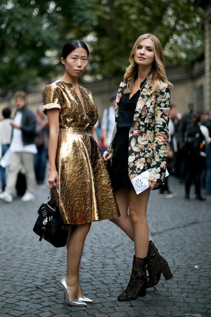 Cool idée style de femme moderne, tenue de noel femme, robe pour noel, robe nouvel an, tenue de fete