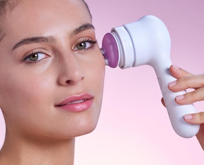 modèle appareils soins de visage, idée cadeau high-tech pour soins peau et anti-âge, idée cadeau anniversaire maman
