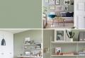 Peinture vert de gris – une couleur tendance pour sublimer son intérieur en 2019