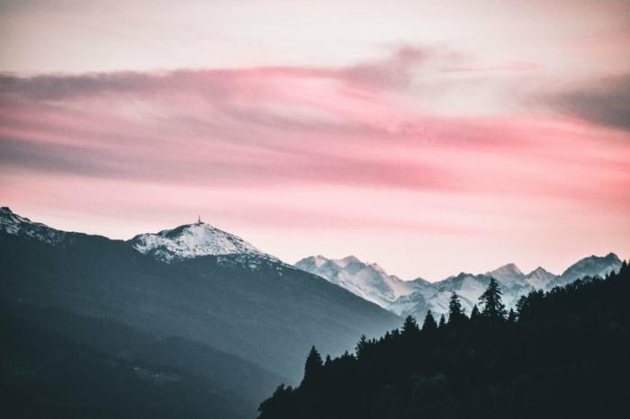 Photo fond d écran zen, montagnes fond ecran ordinateur, belle image à utiliser pour son desktop, chouette idée en photo de nature