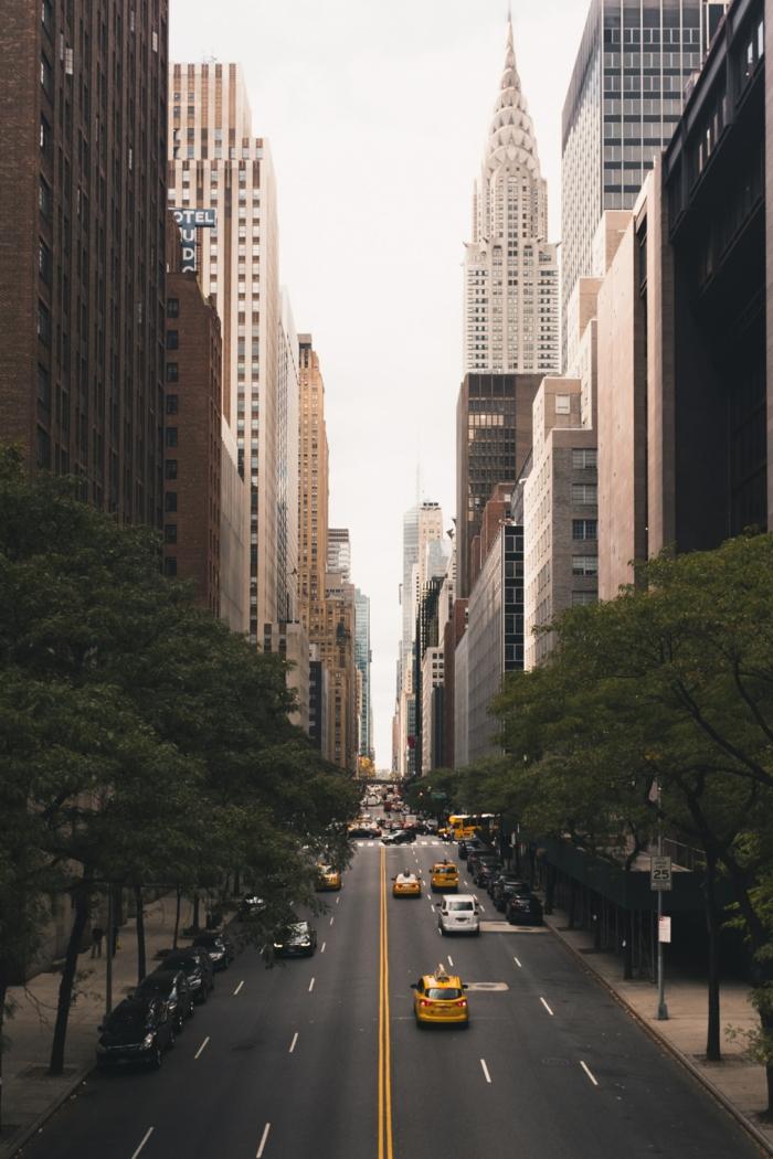 New-yorkais fond d écran stylé, les plus beaux fonds d écran style swag, admirable photo de rue de new york idée fond ecran cool