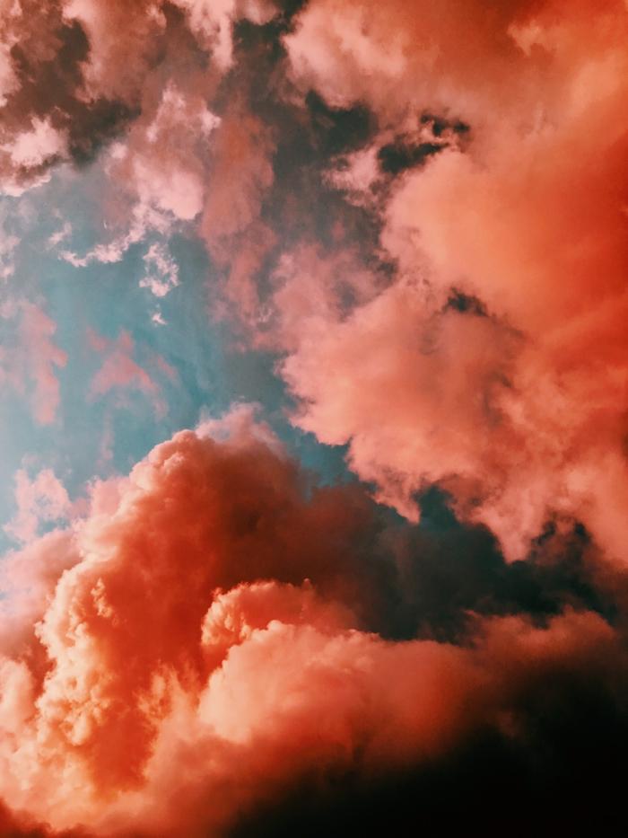 Fond d écran nuages roses au fond bleu, les plus beaux fonds d écran beau fond d ecean pour moi
