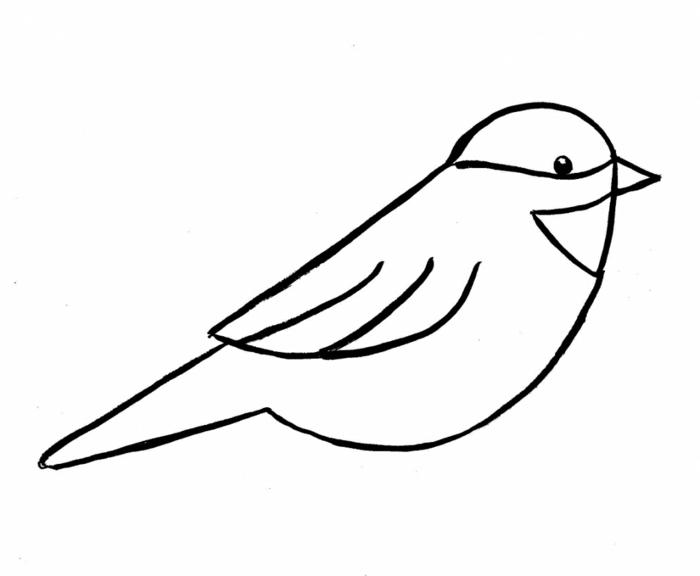 Comment dessiner des animaux dessin facile a faire etape par etape choix dessin de oiseau simple