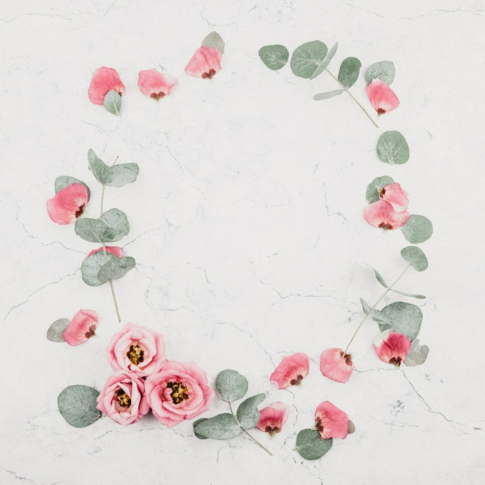 Fond d écran ado, fond d écran rigolo chouette idée pour ado image à choisir roses en cercle