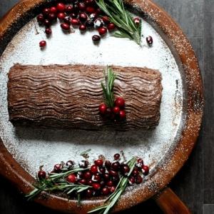Trouvez la recette bûche de Noël originale qui terminera délicieusement les repas de fin d'année
