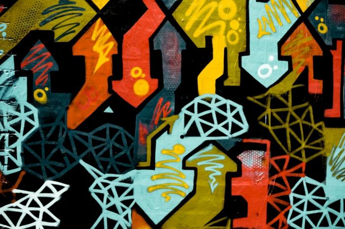 Image fond d écran paysage, fond d écran stylé pour fille iphone version, mur coloré