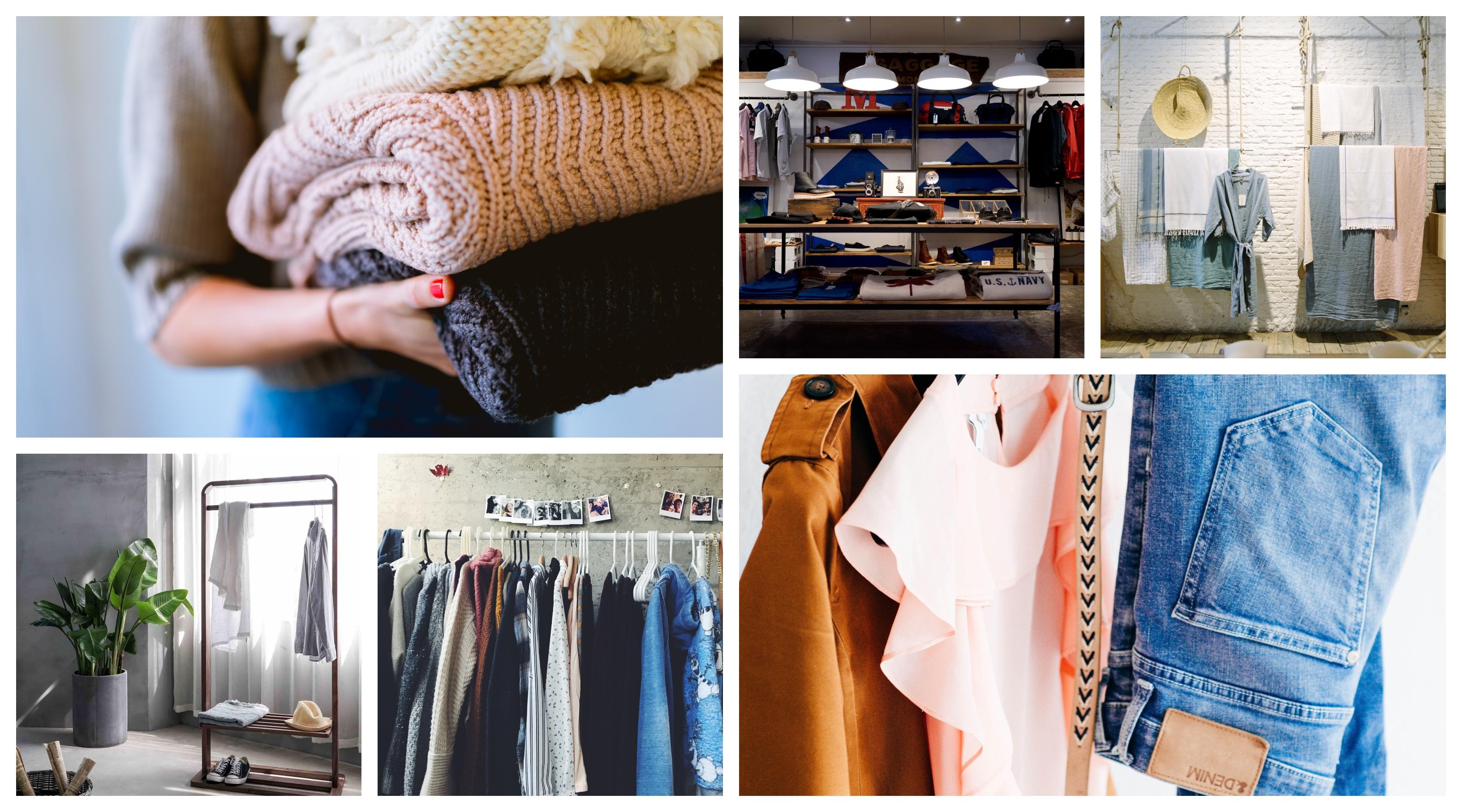 Dressing ouvert, rangement vetement, intérieur moderne, idée décoration chambre fille