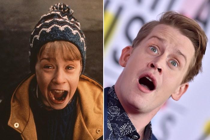 avant et après Macaulay Culkin reprend le rôle de Kevin dans maman j'ai raté l avion, film d enfance