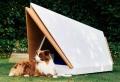 La niche chien du futur – nouvelle invention anti-bruit de Ford pour réduire le stress durant le feu d'artifice