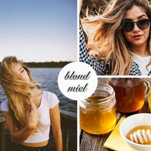 Le blond miel : une coloration parfaite qui flatte tous les visages