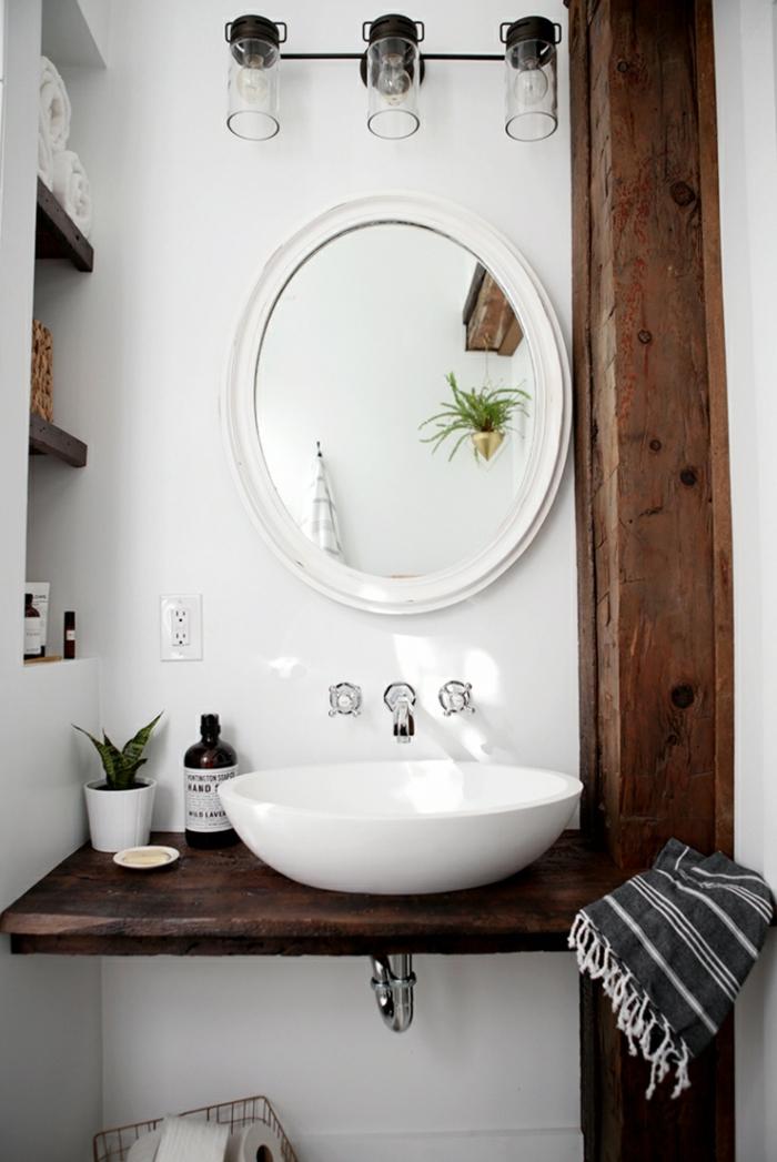 Meuble salle de bain industrie,l verriere salle de bain, relooker sa salle de bains projet pour la décoration