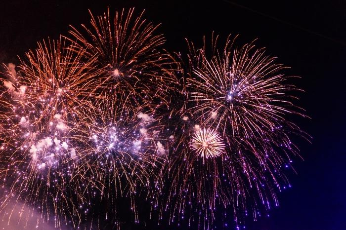 photographie feux d'artifice, wallpaper nouvel an 2019, idée images nouvel an gratuites, photo célébration de nouvel an