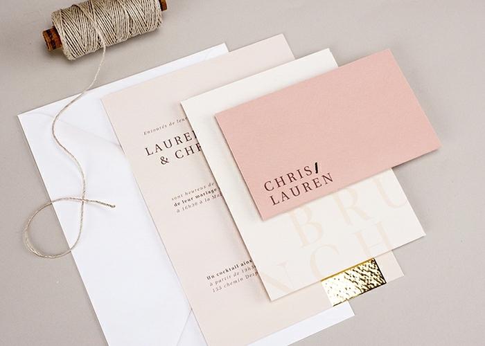 modele de carte d'invitation, ficelle de jute, faire-part de mariage à personnaliser