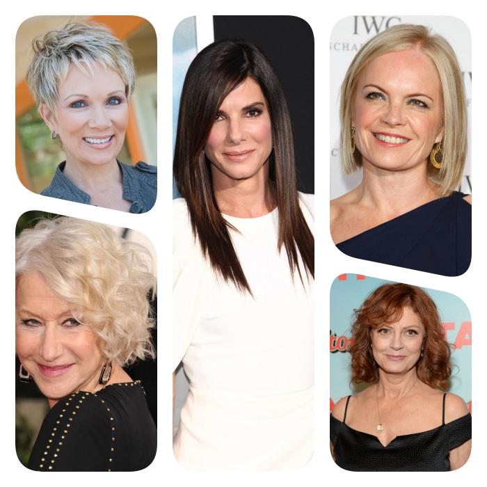 modeles de coupe de cheveux qui rajeunit, coupe courte pixie, coupe carré lisse ou ondulé et coupe dégradé femme