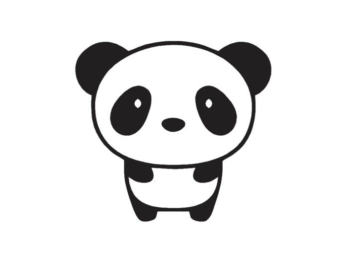 Comment dessiner un chien dessin facile a reproduire mon meilleur dessin panda noir et blanc