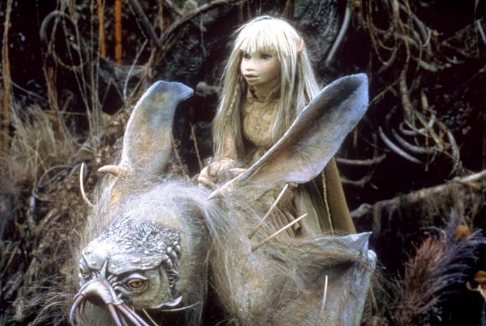Dark Crystal 1982 de Jim Henson, image film fantasty 1982, personnages fantasy Gelflings de Dark Crystal