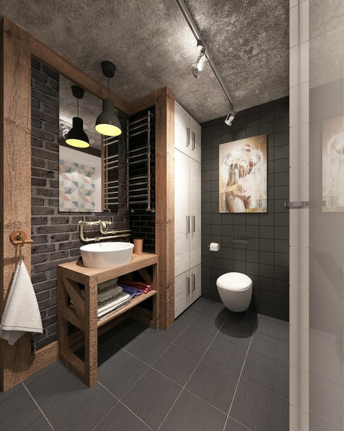 1001 + Idées Pour La Salle De Bain Industrielle Magnifique