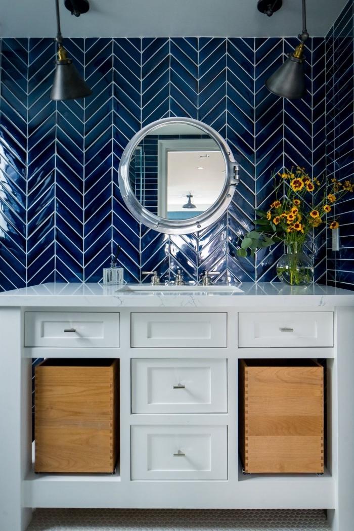 Best Salle De Bain Zellige Bleu Images - House Interior ...