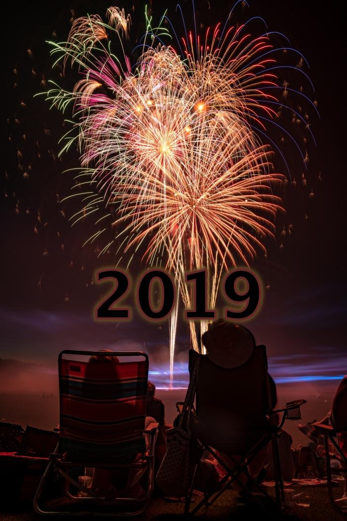 image nouvel an 2019, photo fête de nouvel an en couple, fond d'écran iphone avec feux d'artifice nouvel an 2019