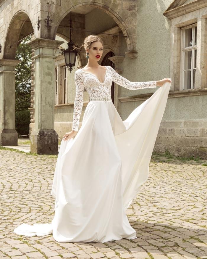 1001 Modèles Incroyables De La Robe De Mariée Avec