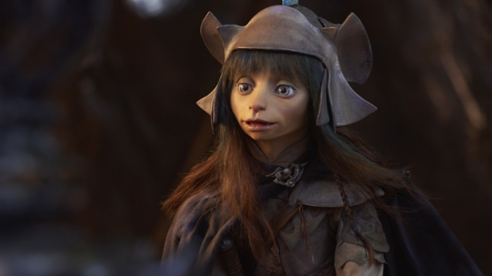 image personnage Netflix, photo Gelflings de The Dark Crystal 2019, personnage Rian de la série préquelle de Jim Henson
