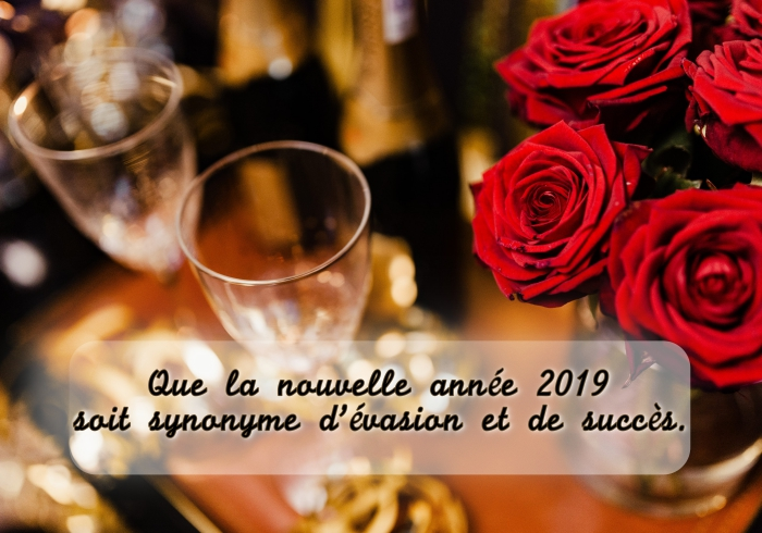 bonne et heureuse année 2019, message court pour nouvel an, décoration table réveillon 2019, photographie fête nouvel an