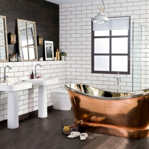 La salle de bain industrielle - les plus beaux exemples en images