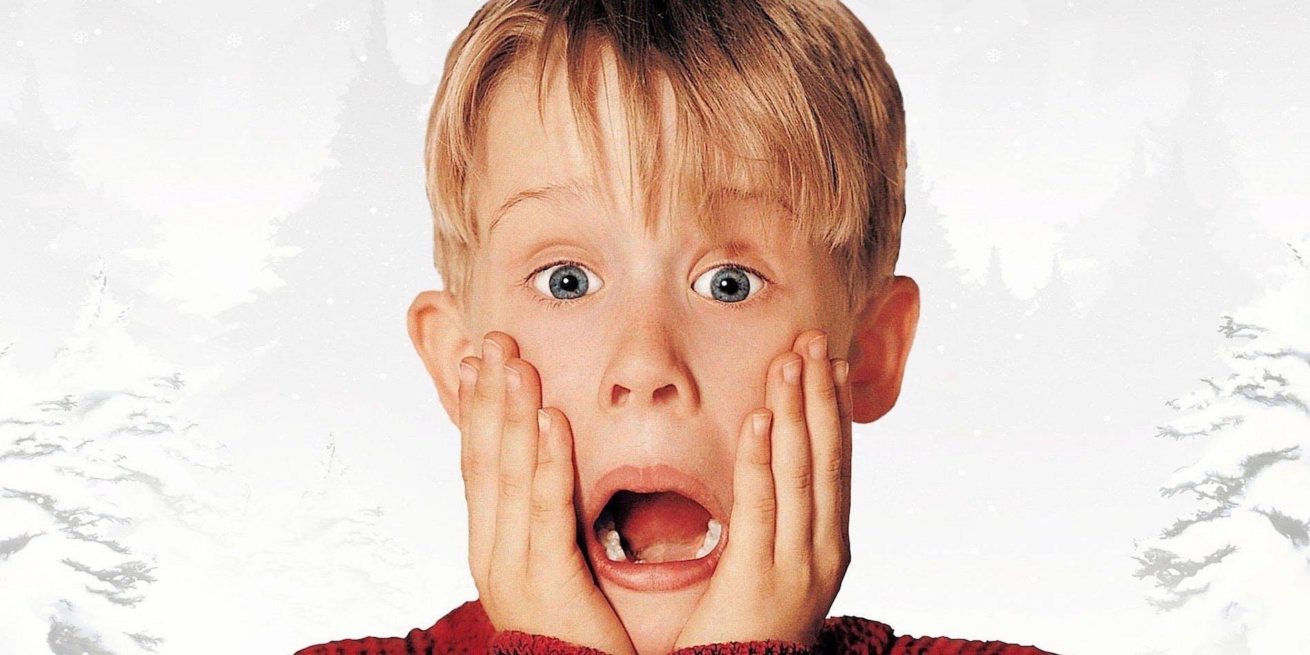 Macaulay culkin dans le role de Kevin McCallister dans la série d origine maman j ai raté l avion