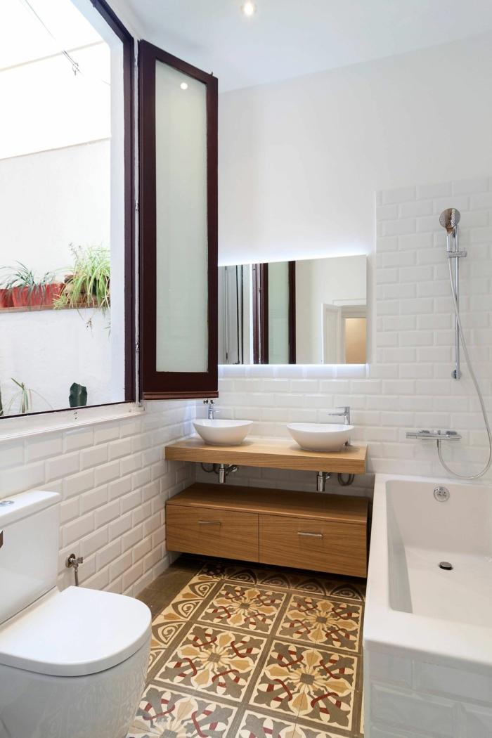 Aménagement salle de bain retro la salle de bains belle decoration industriel style piece importante