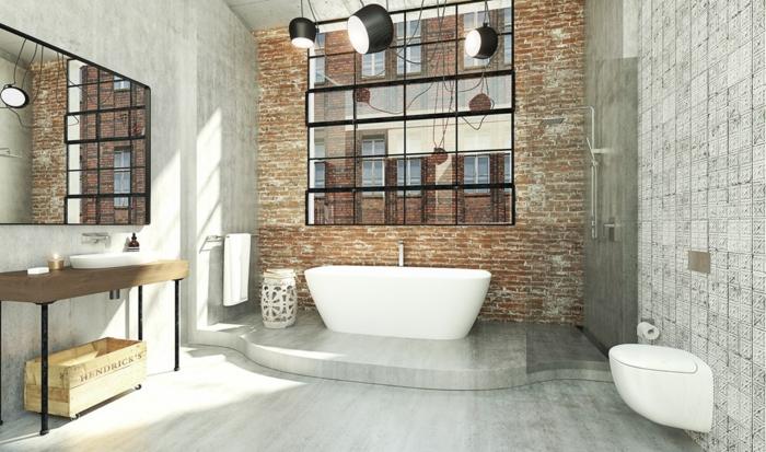 Cool idée déco salle de bains, image pinterest salle de bain, style industriel, comment décorer son salle de bain