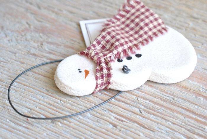 comment faire de la pâte à sel pour décorations de noel avec les enfants pendant les vacances