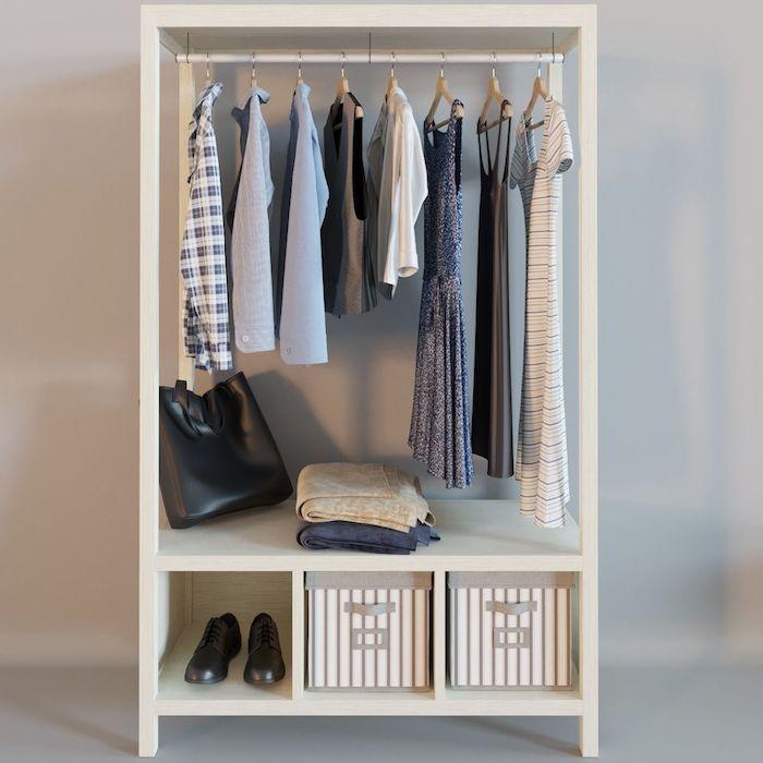Idée déco chambre parentale meuble rangement chambre bien aménagée