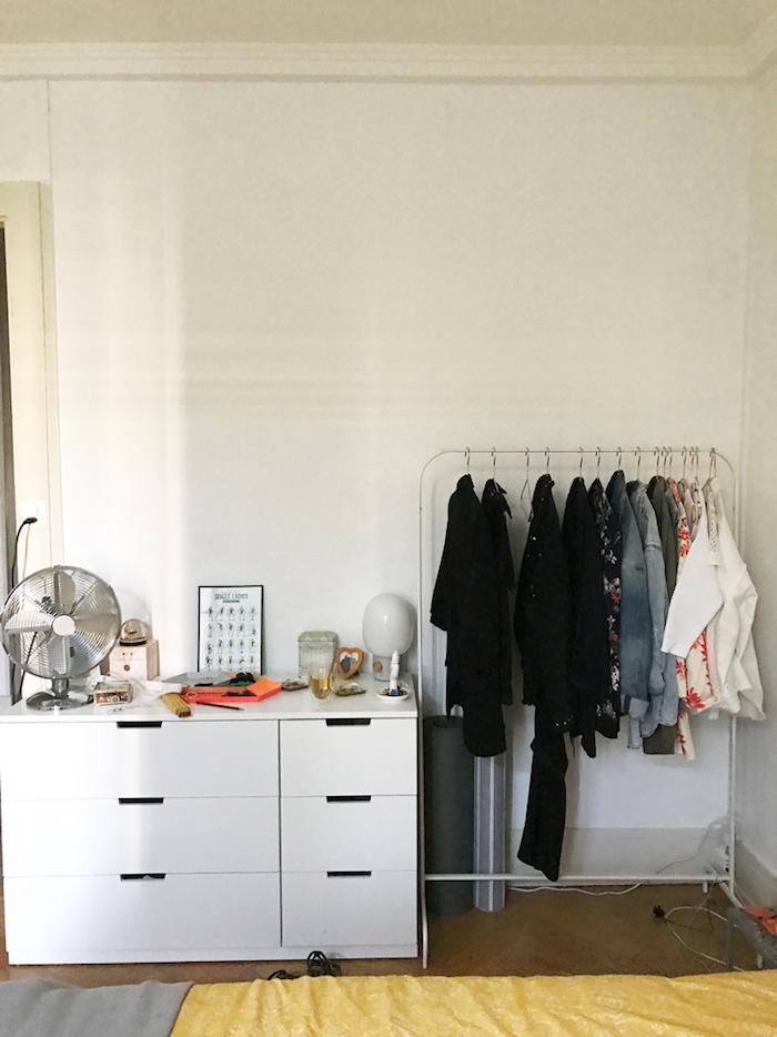 Dressing modulable meuble rangement chambre adulte décoration simple meuble pour ranger ses vetements