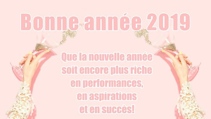 idée carte de voeux pour nouvel an 2019, photo verre de champagne et confettis, idée message pour nouvel an
