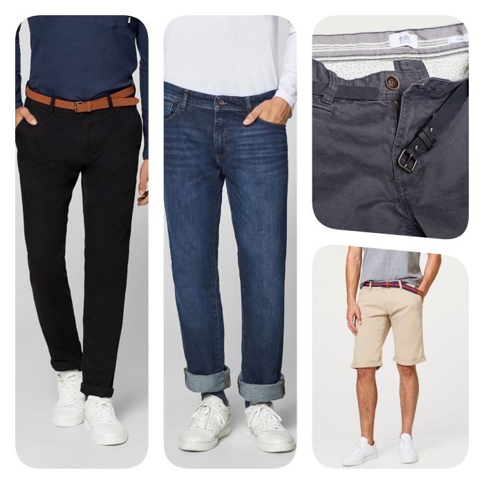 tenue homme décontractée, pantalon chino ou une paire de jean branchée, shorts chini combinés avec des baskets
