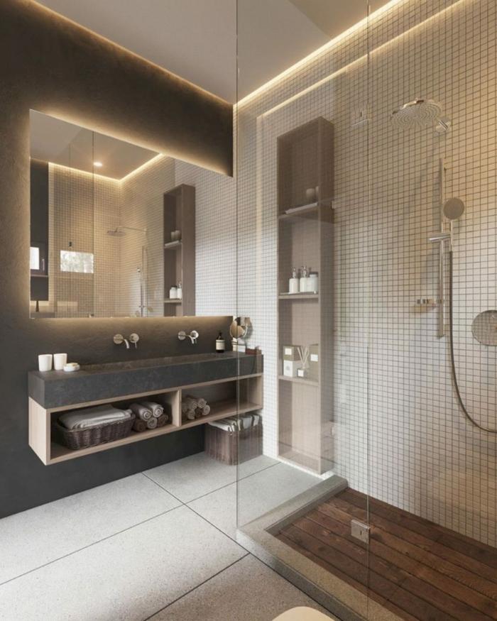 Meuble salle de bain vintage, décoration pour ma salle de bains magnifique design salle de bain original